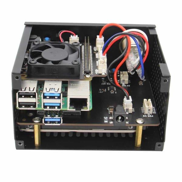 Kit Raspberry PI 4 model B 8 GB Combo card 64 GB cu integrare HDD/SSD SATA 2.5