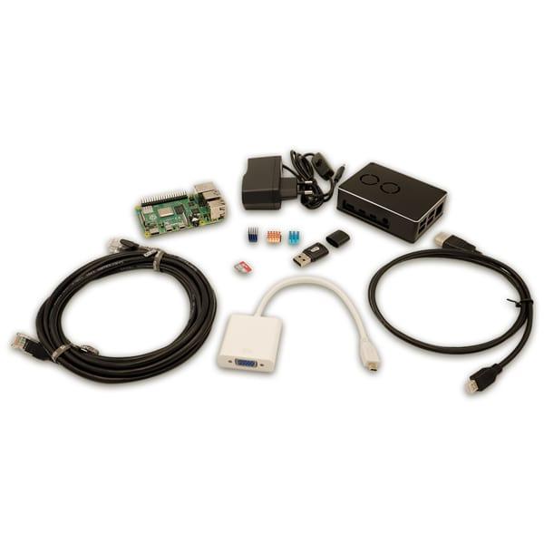 Kit Raspberry PI 4 model B 4 GB Combo