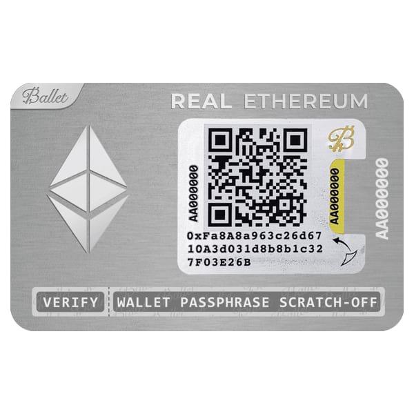 Ballet REAL Ethereum Wallet